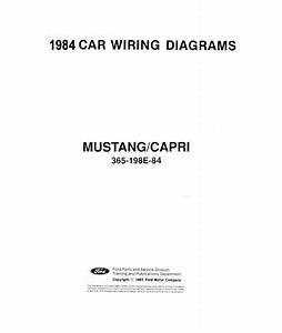 1984 Ford Mustang Wiring Diagram : 1984 ford mustang capri electrical wiring diagrams ~ A.2002-acura-tl-radio.info Haus und Dekorationen