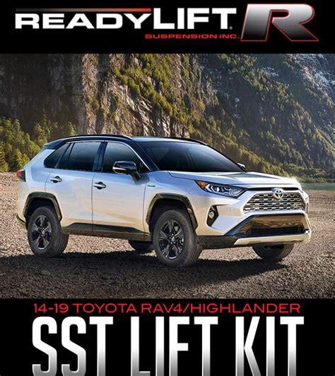 readylift sst lift kits   toyota ravhighlander