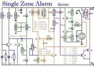 Single Zone Alarm - Control Circuit