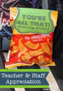 Printable Teacher Appreciation Chips