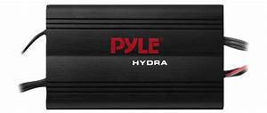 Pyle Plmrkt4b Waterproof Micro Marine Amplifier 4