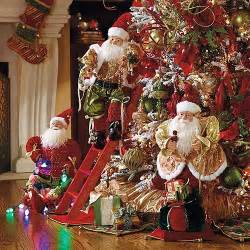 set of 3 animated decorating elves christmas decorations traditional holiday decorations