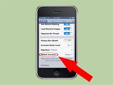 how to add email to iphone how to add email to your iphone with pictures wikihow