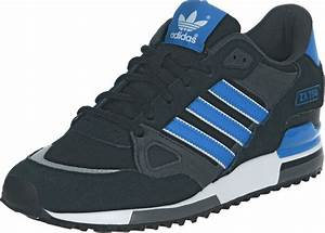 Adidas ZX 750 Shoes Black Blue