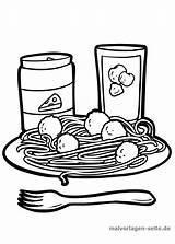 Spaghetti Essen Ausmalbilder Malvorlage Malvorlagen Colorare Kinder Kostenlos Teller Coloring Seite Kleurplaten Trinken Disegno Pizza Gratis Kostenlose Oeffnen Grafikdatei Als sketch template