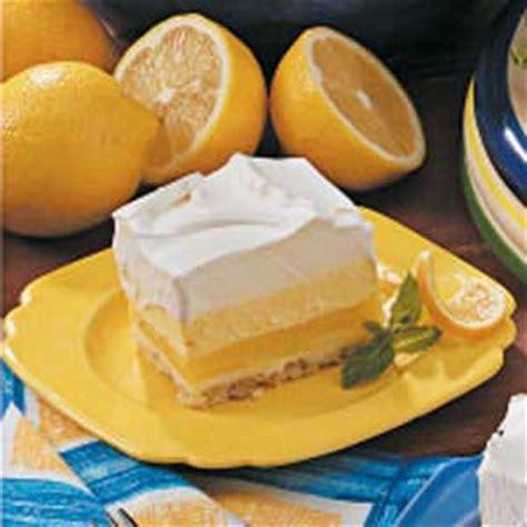 dessert recipes with lemon lemon cream dessert recipe taste of home
