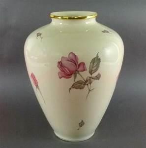 Kpm Porzellan Antik : kpm krister vase rosen bodenvase 29 cm ansbach ~ Michelbontemps.com Haus und Dekorationen