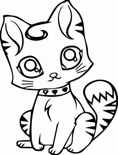 Coloring Cat Pages Preschoolers Cats Printable Getcolorings