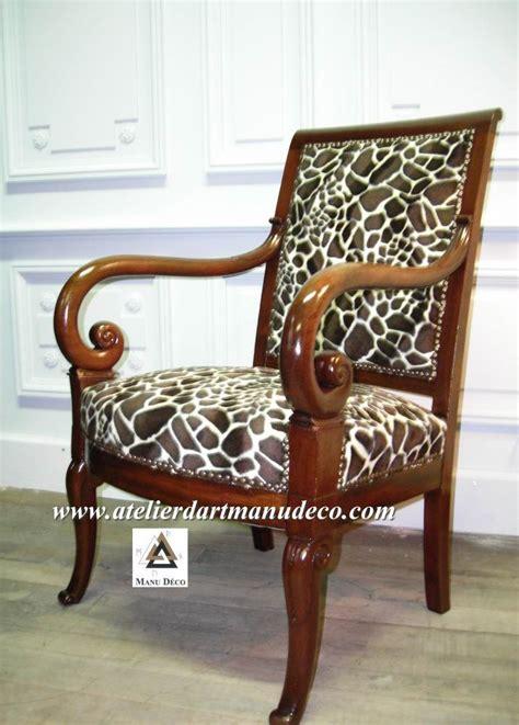 fauteuil la girafe r 233 fection de si 232 ges tapissier d ameublement si 232 ge louis philippe