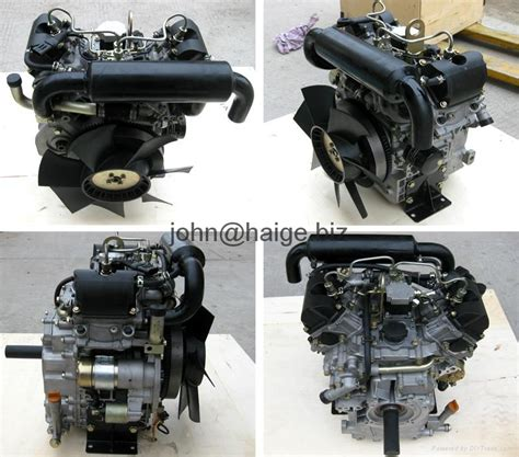 hp water cooled  twin  cylinder diesel engine china