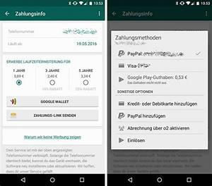Abrechnung über O2 : whatsapp bezahlen mit paypal co alle varianten im ~ Themetempest.com Abrechnung