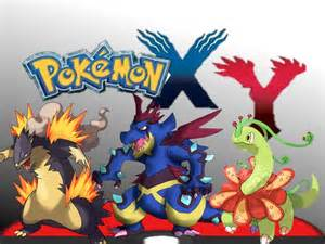 Mega Evolution Pokemon X and Starters