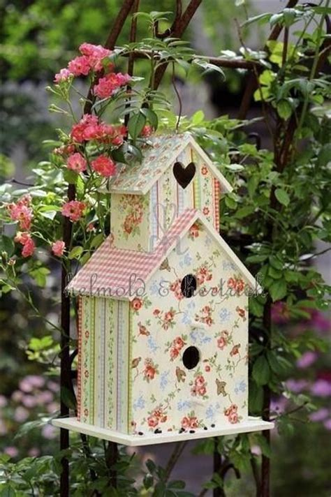 shabby chic birdhouse shabby bird house shabby chic pinterest