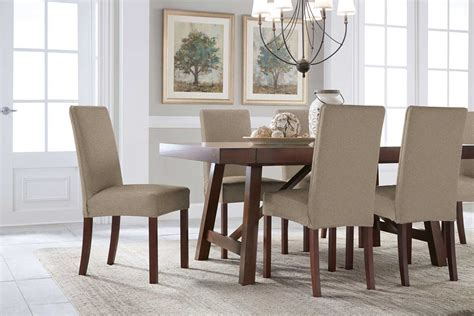 Dining Chair Slipcovers by Serta Reversible Stretch Suede Dining Chair Slipcovers
