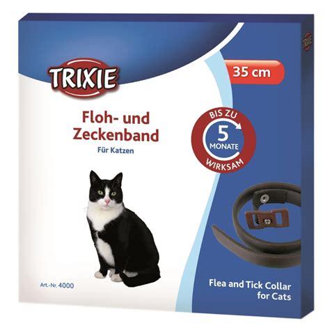 flohhalsband zeckenband fuer katzen  cm  von trixie