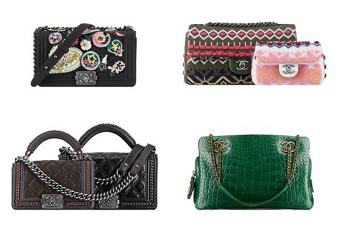 chanel pre fall  bag collection featuring embroidered bags spotted fashion