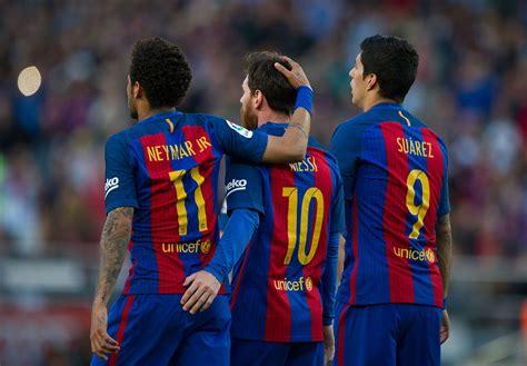 Report: Neymar Pushed Leonardo to Sign Messi and Suarez ...