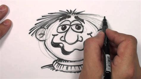 draw  cartoon face funny face drawing lesson