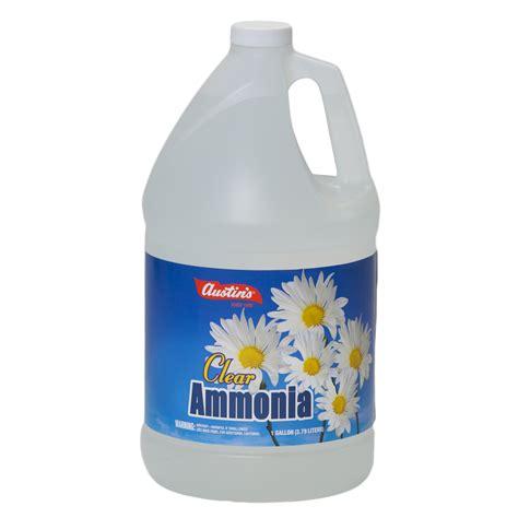 ammonia cleaning clear ammonia james austin company