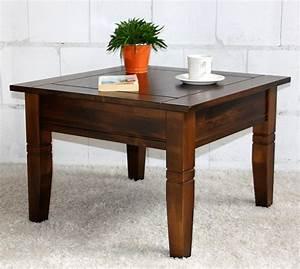 Couchtisch Quadratisch Holz : couchtisch kolonial beistelltisch quadratisch 65x65cm ~ Buech-reservation.com Haus und Dekorationen