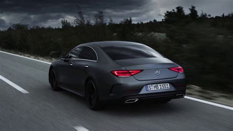mercedes cls driving scenes youtube