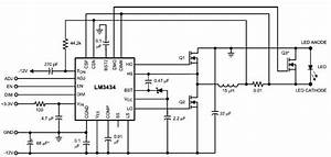 10a high power led driver circuit design using lm3434 With led driver circuit schematic