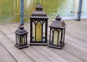 20, Collection, Of, Set, Of, 3, Outdoor, Lanterns