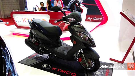 Gambar Motor Kymco Racing King 150i by Kymco Racing King 150i Di Iims 2017 Autonetmagz