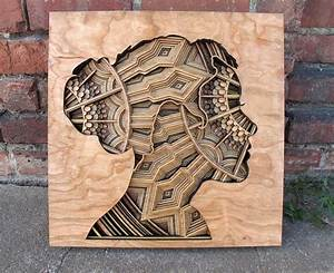 Laser-Cut Wood Relief Sculptures by Gabriel Schama Colossal