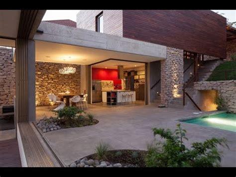 Modernes Haus Mit Garten by Modern House Design With Rustic Sensation Known As Garden