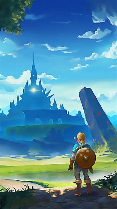 Breath Wild Zelda Phone Wallpapers Legend Wallpaperaccess