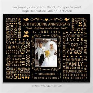 50th wedding anniversary gift for mom and dad by for 50 wedding anniversary gift