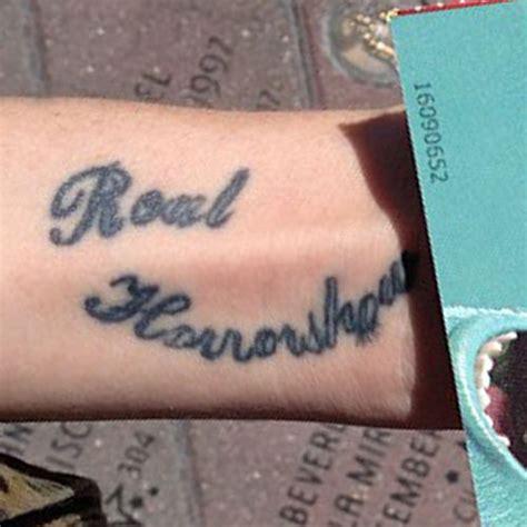 gravyardgirl bunny meyer writing forearm tattoo steal