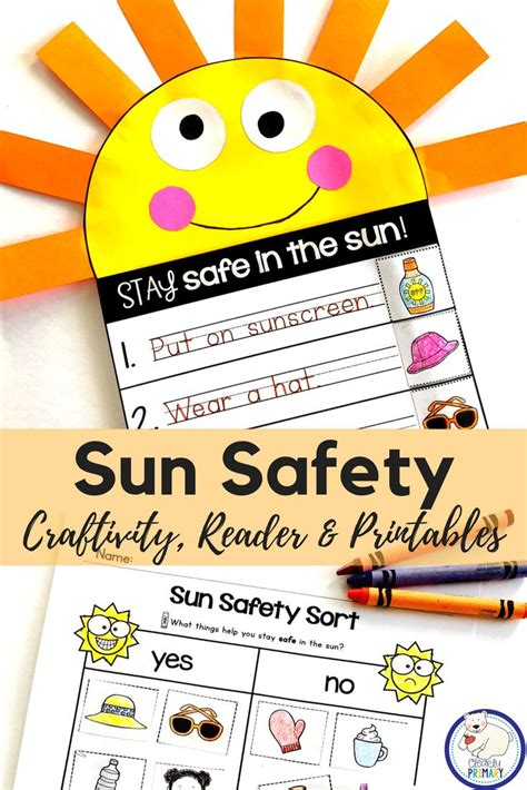 Great end of the year health and safety activity for ...
