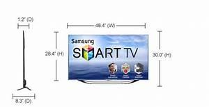 Dimension Tv 65 Pouces : samsung 55 inch led smart tv samsung smart tvs ~ Melissatoandfro.com Idées de Décoration