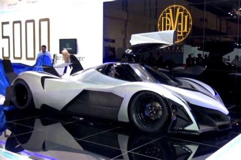 Dubai 5000 Hp Car by Devel Sixteen 5000 Horsepower V16 Hyper Car From Dubai