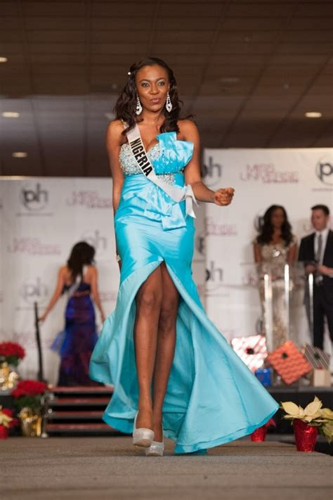 nigeria competing  universe  fashion style