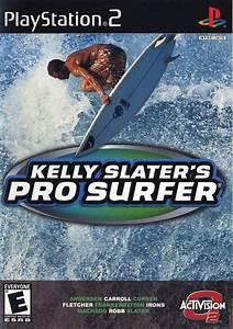 Kelly Slateru002639s Pro Surfer Box Shot For Playstation 2