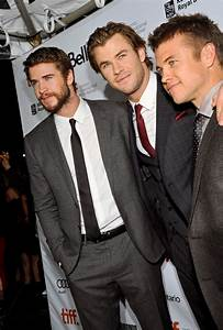 The Hemsworth Brothers: Liam, Chris and Luke step out in ...