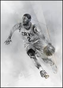 Kyrie Irving Coloring Page Drawings