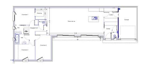plan maison 3 chambre plain pied concevoir sa maison trecobat