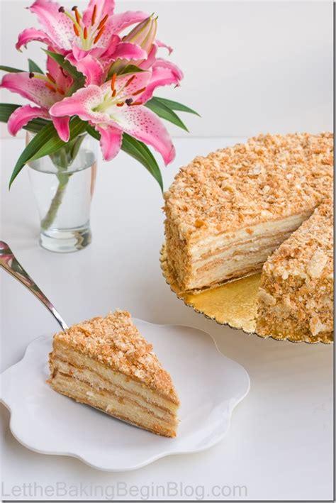 napoleon cake recipe best quot napoleon quot cake ever let the baking begin