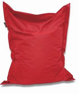 Pouf Geant Interieur : pouf geant de 200x145cm avec remplissage rouge ~ Preciouscoupons.com Idées de Décoration