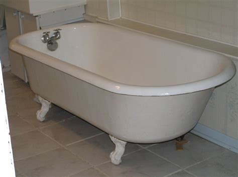 Clawfoot Tub Sizes by Baignoire Wikip 233 Dia