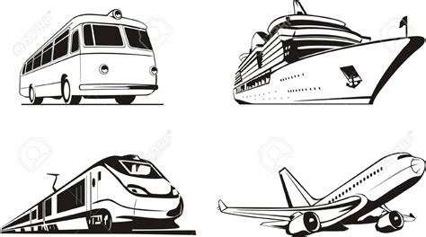 Means Of Rail Transport Clipart