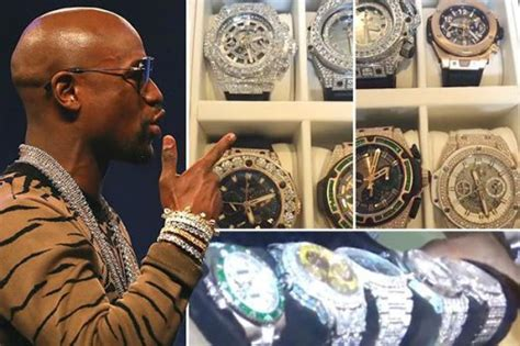 mayweather watch collection sports how nigeria news