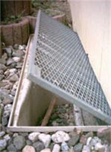 Gitterrostsicherungen Für Kellerschächte Und Lichtschächte