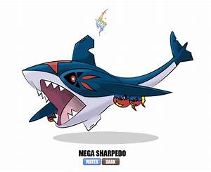 #319 Mega Sharpedo by Otchono on DeviantArt
