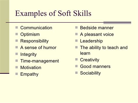 exles of skills and abilities to put on a resume searching 101 skills employers look for