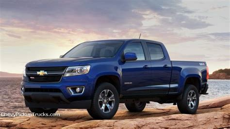 chevy colorado blue car news  projects
